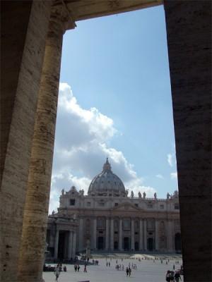 Petersplatz im Vatikan.